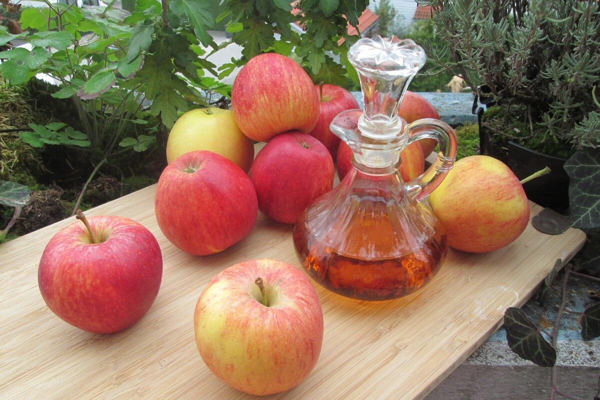 cerrar los poros con vinagre de manzana